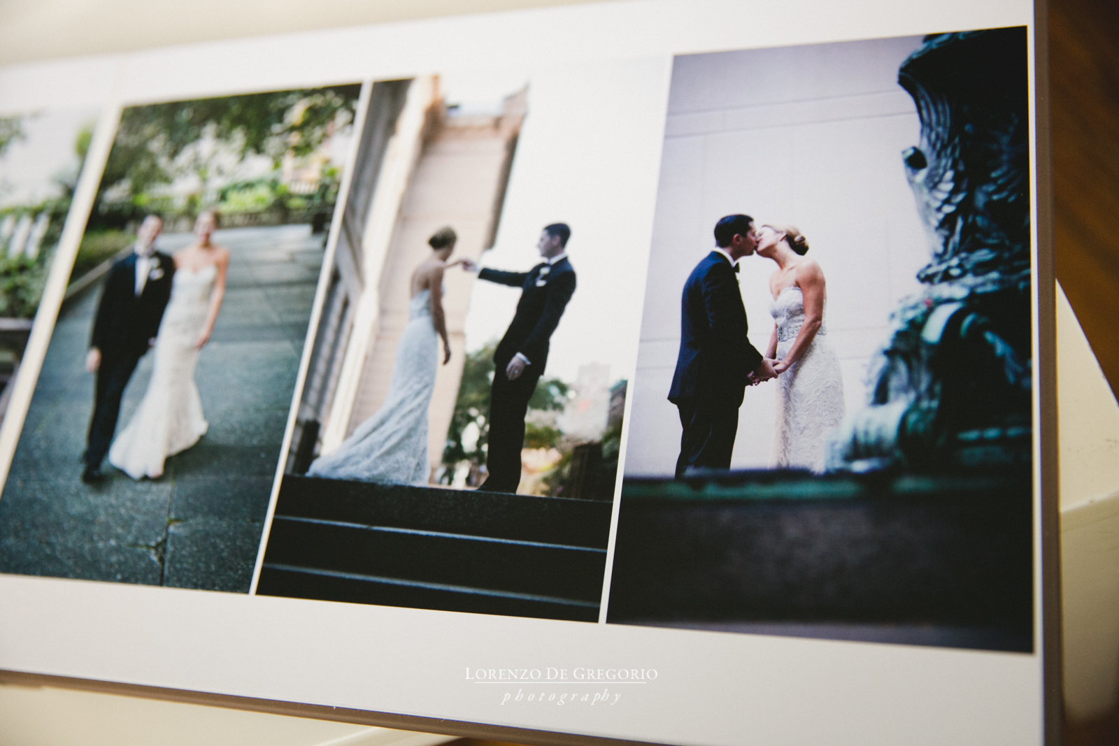 Queensberry wedding album Chicago