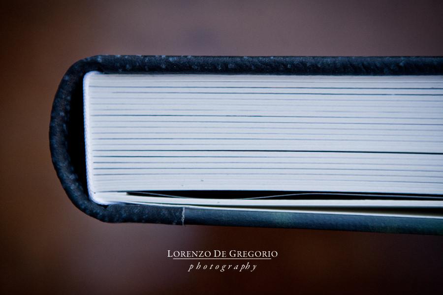 Queensberry wedding album Contemporary leather