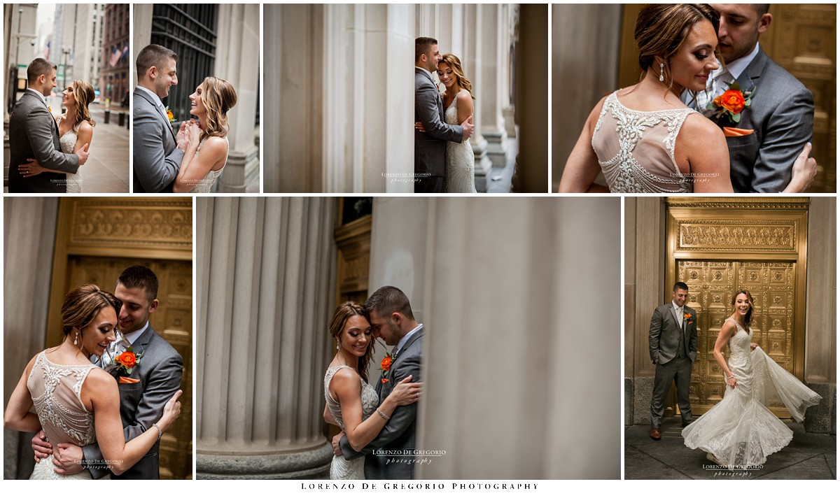Architectural Artifacts wedding | Lasalle street wedding pictures