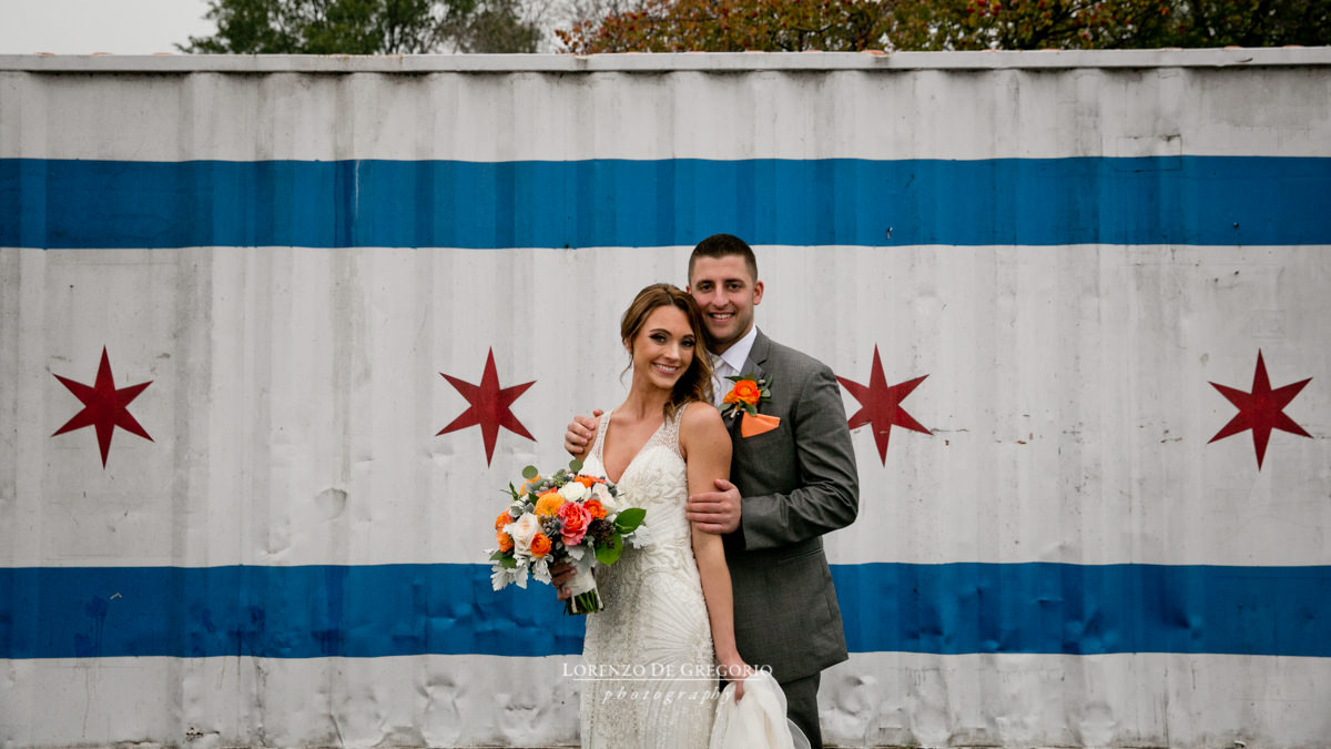 Architectural Artifacts wedding | Montrose beach wedding pictures