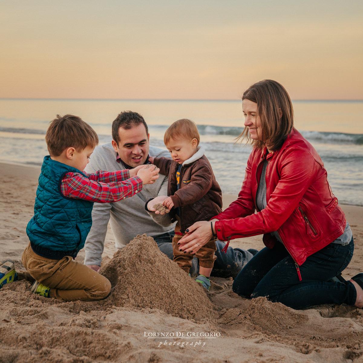 Gillson Park Wilmette family photography